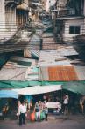Rue quartier chinois bangkok