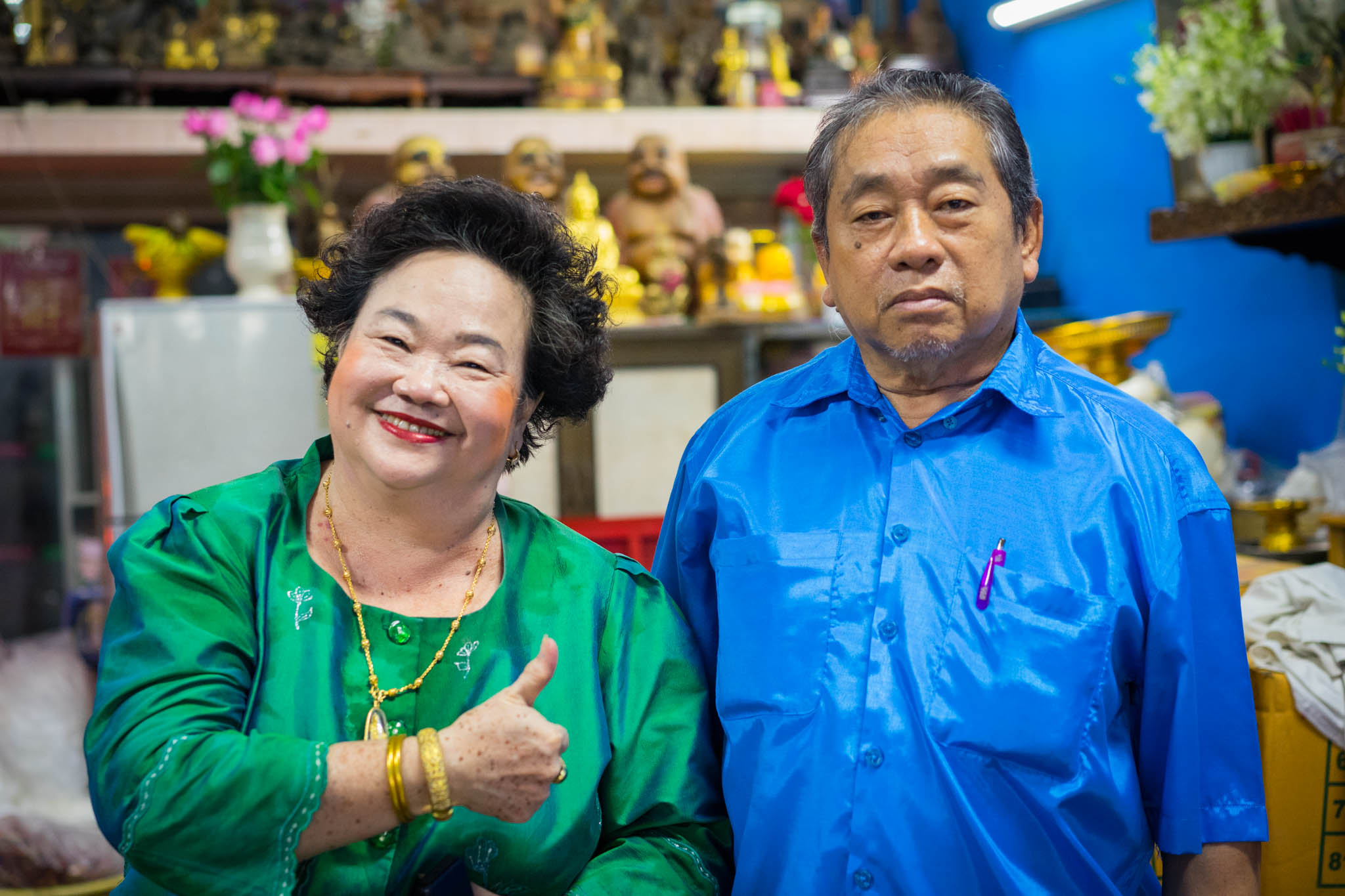 couple à Bangkok