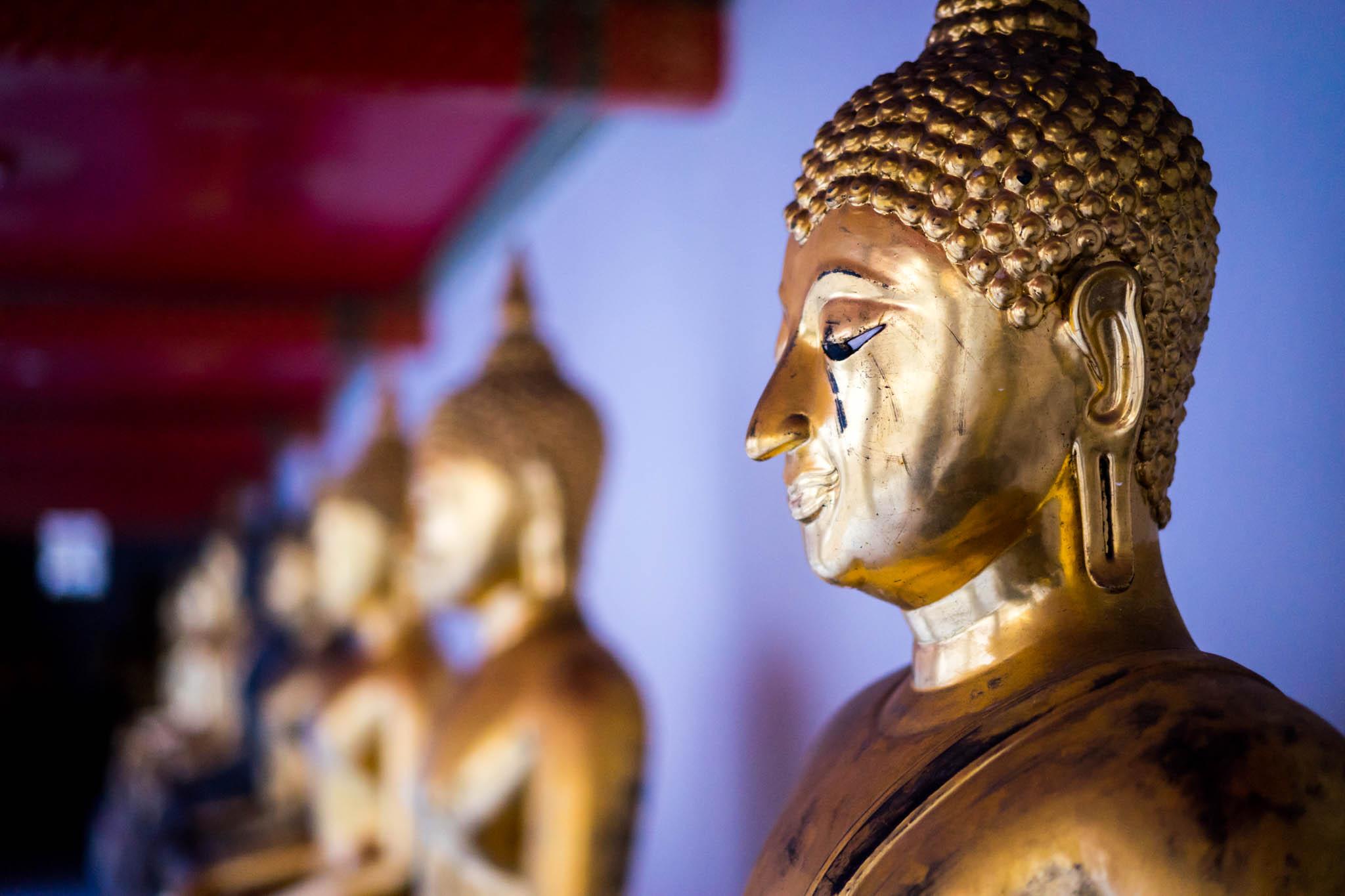 Tête Bouddha Wat Pho