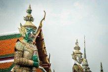 Wat Phrakaew Statue