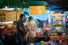 Gargotte à Bangkok