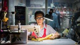 Couturière de rue Ayutthaya