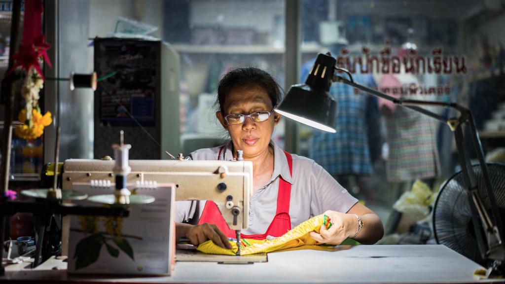 Couturière Thaïlande