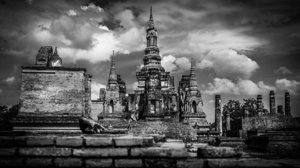 Wat Maha That Sukhothaï