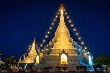 Temples de nuit mae hong son