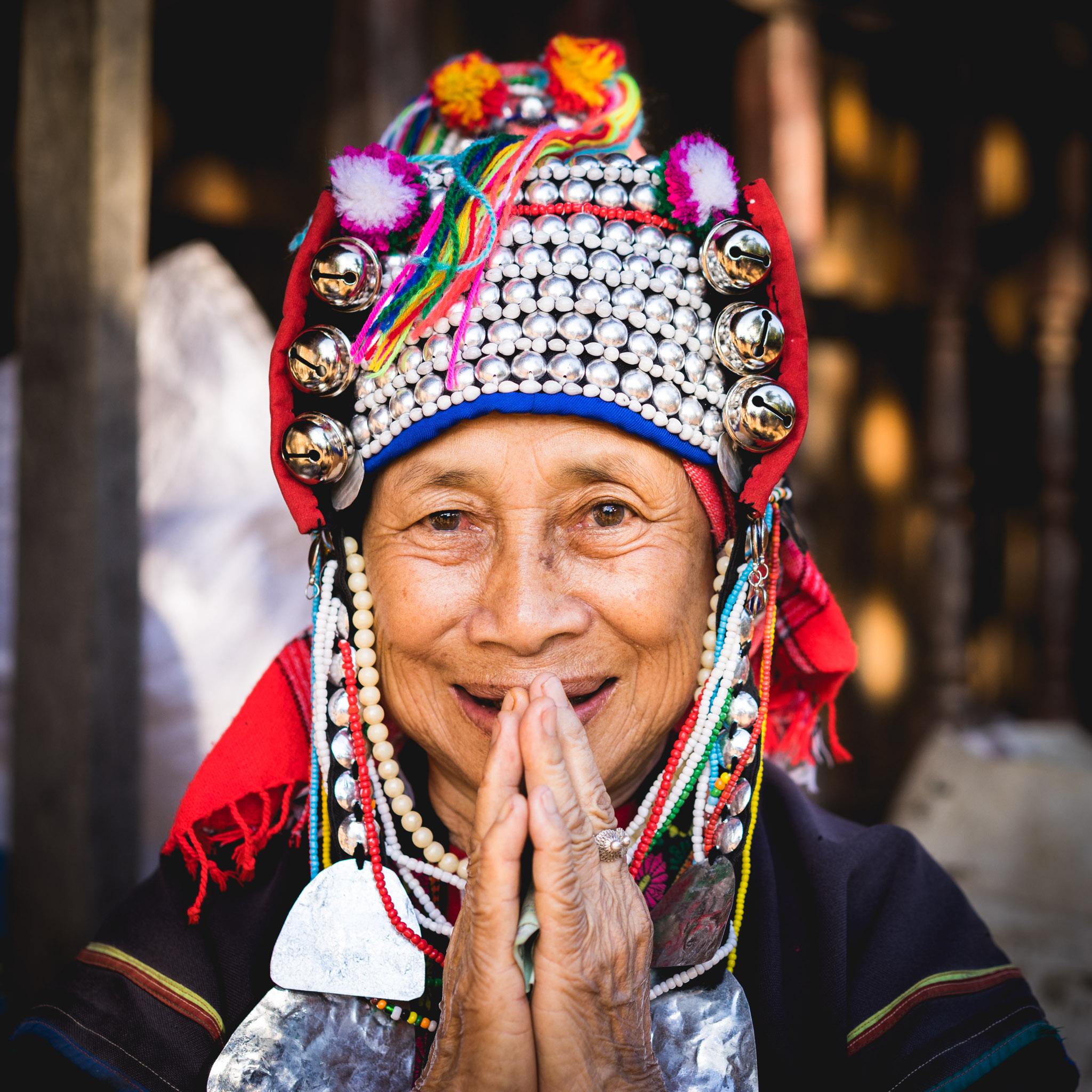 femme Akha en Thaïlande