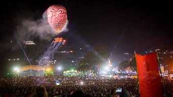 Festival des ballons Taunngyi