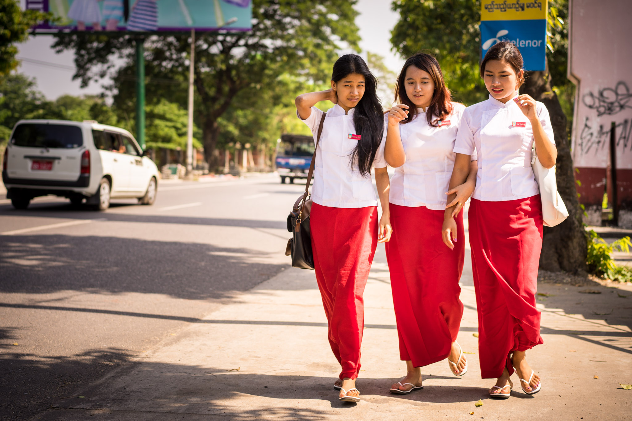 Infirmières birmanes