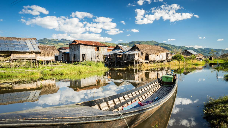 Balade en bateau sur le lac Inle