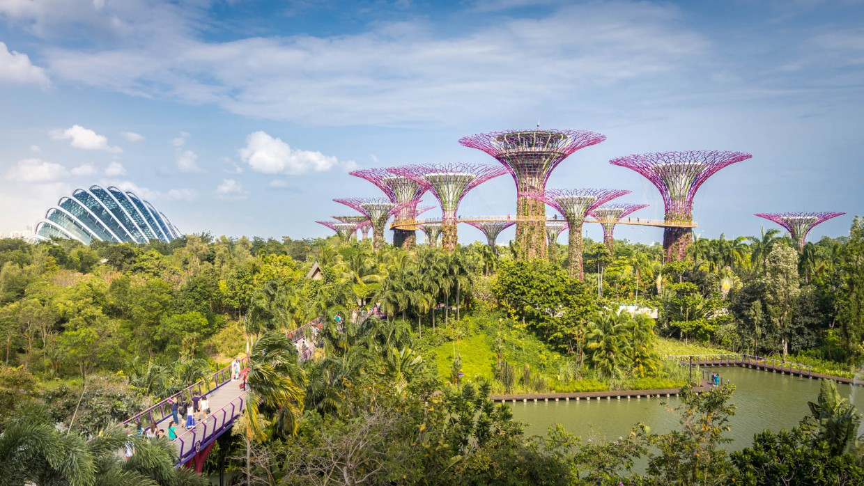 Gardens By The BAy Singapour