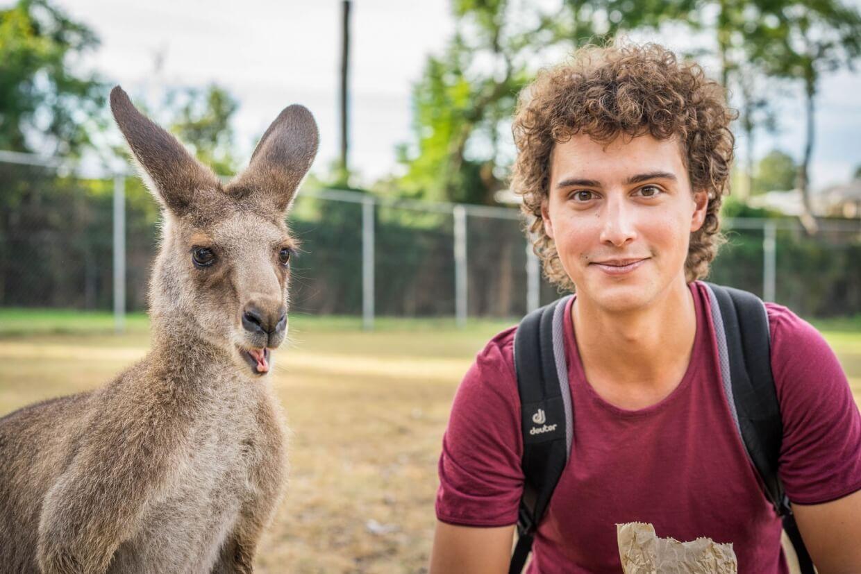 Alexis et son Kangaroo