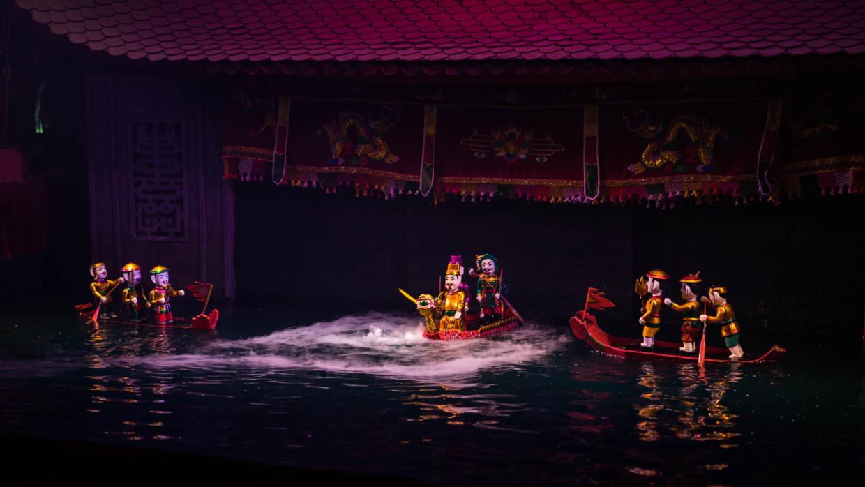 Marionnette sur l'eau Hanoi