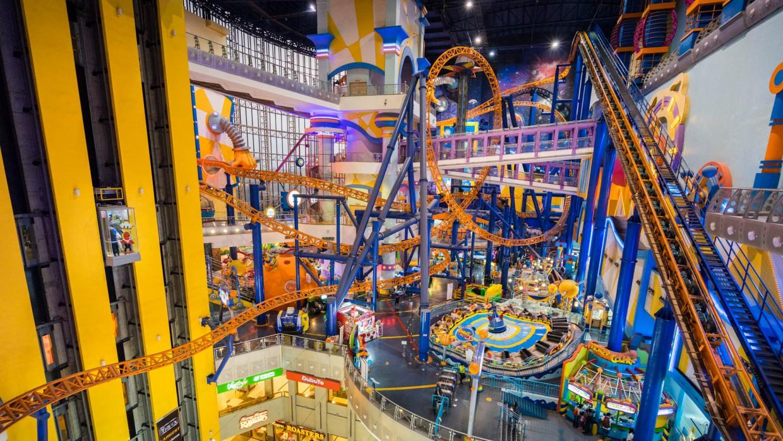 fête foraine dans un Mall de Kuala Lumpur