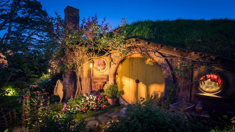 Hobbiton de nuit