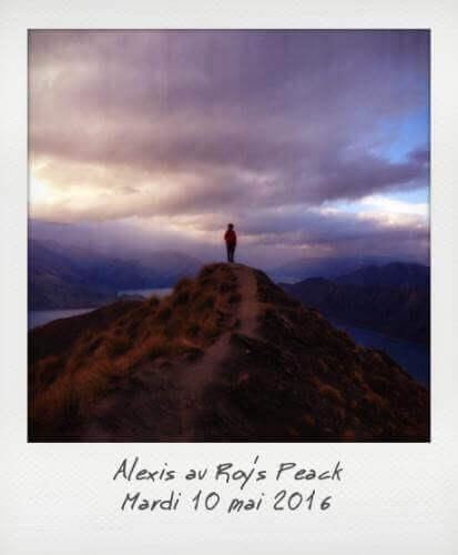 Alexis au Roy's Peack