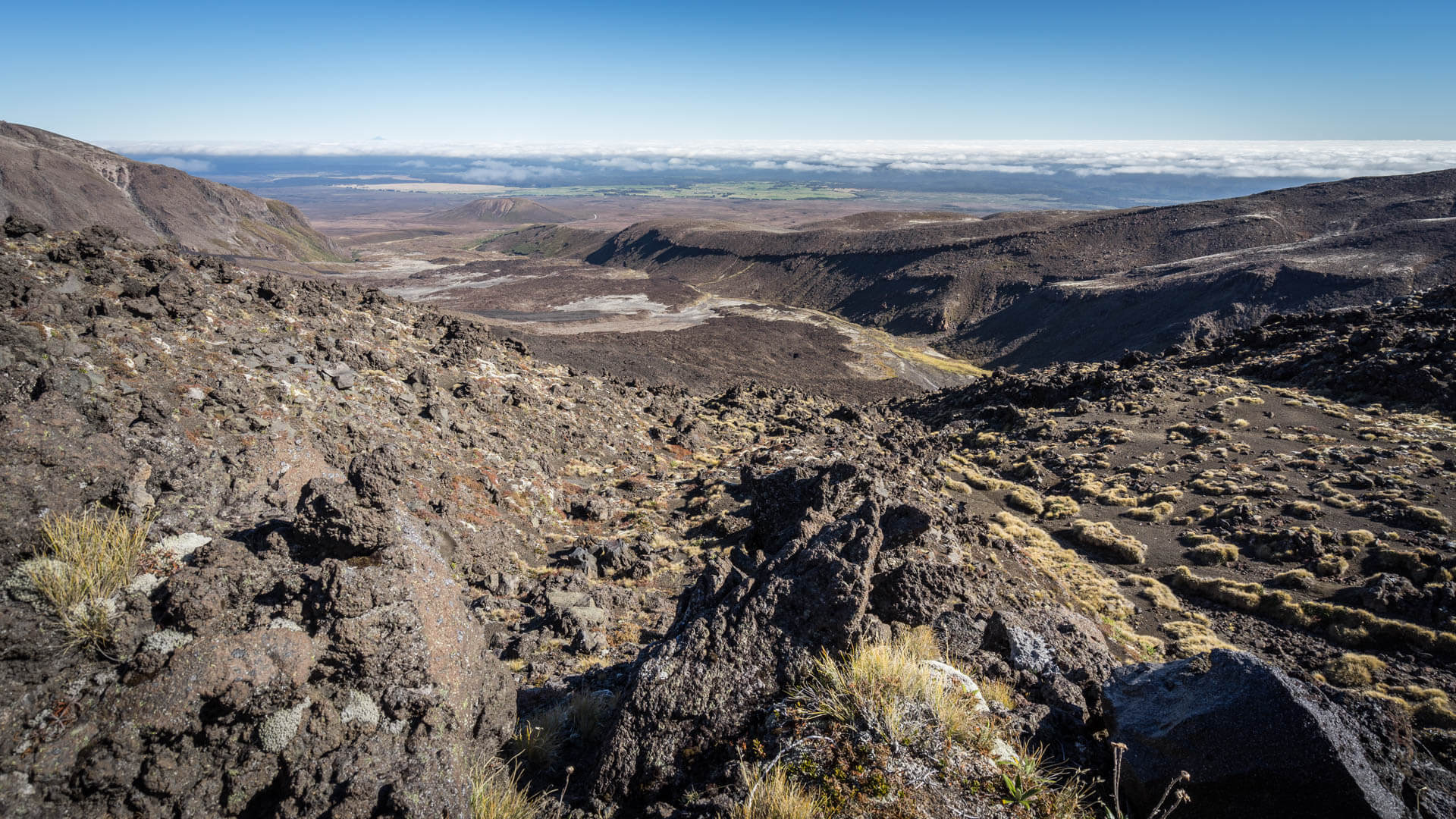 Tongariro Alpine Crossing part 2
