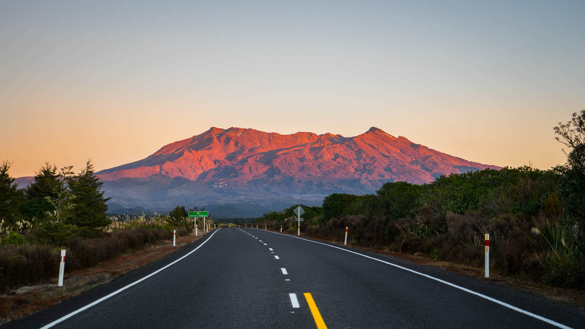 Mont Ruapehu, Parc de Tongariro