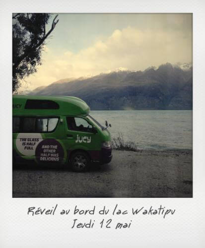 Réveil au bord du lac Wakatipu