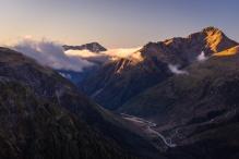 Coucher de soleil sur Arthur's Pass