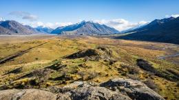 Vue panoramique du mont Sunday