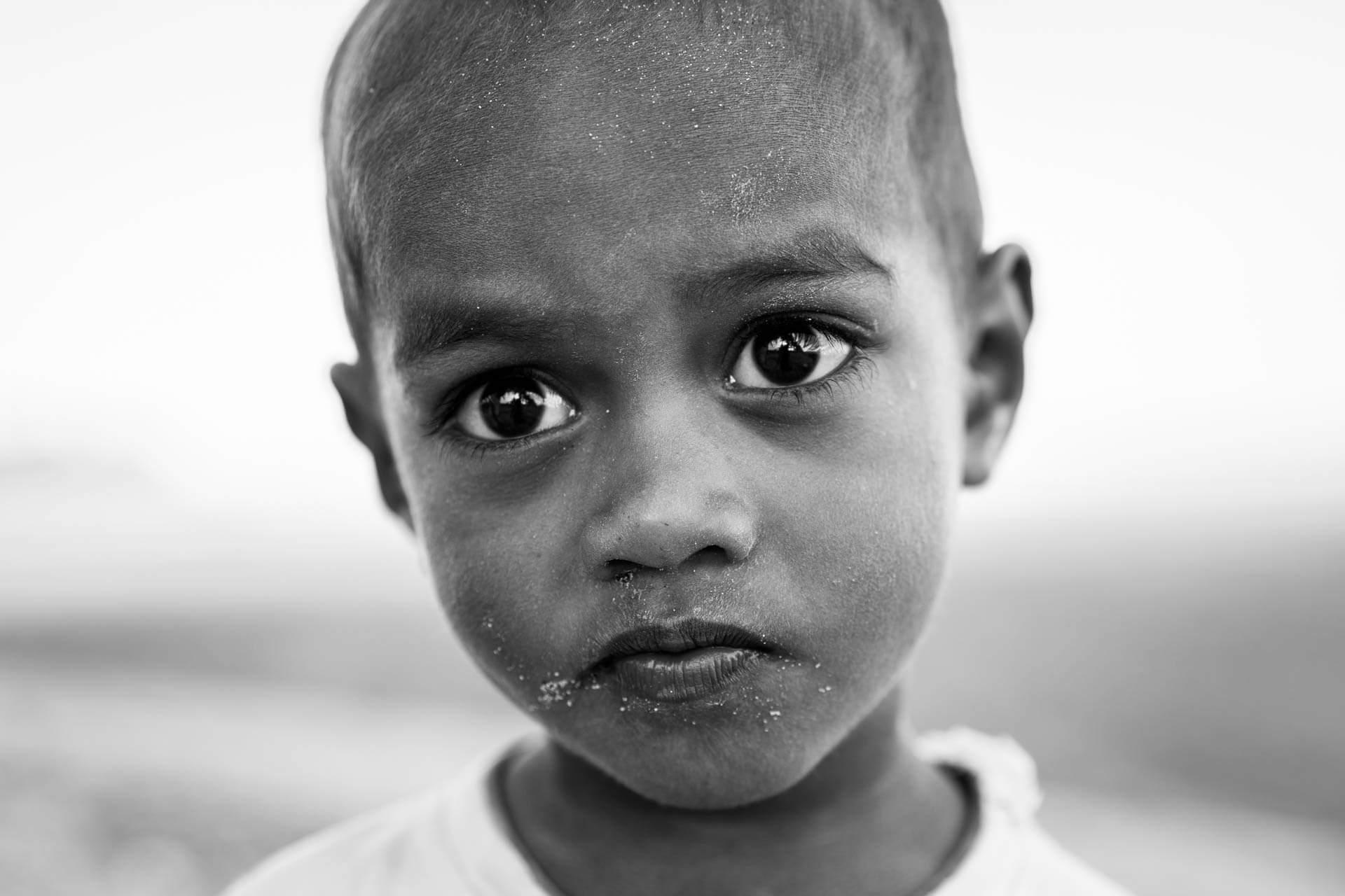 Enfant à nagigi village - fidji