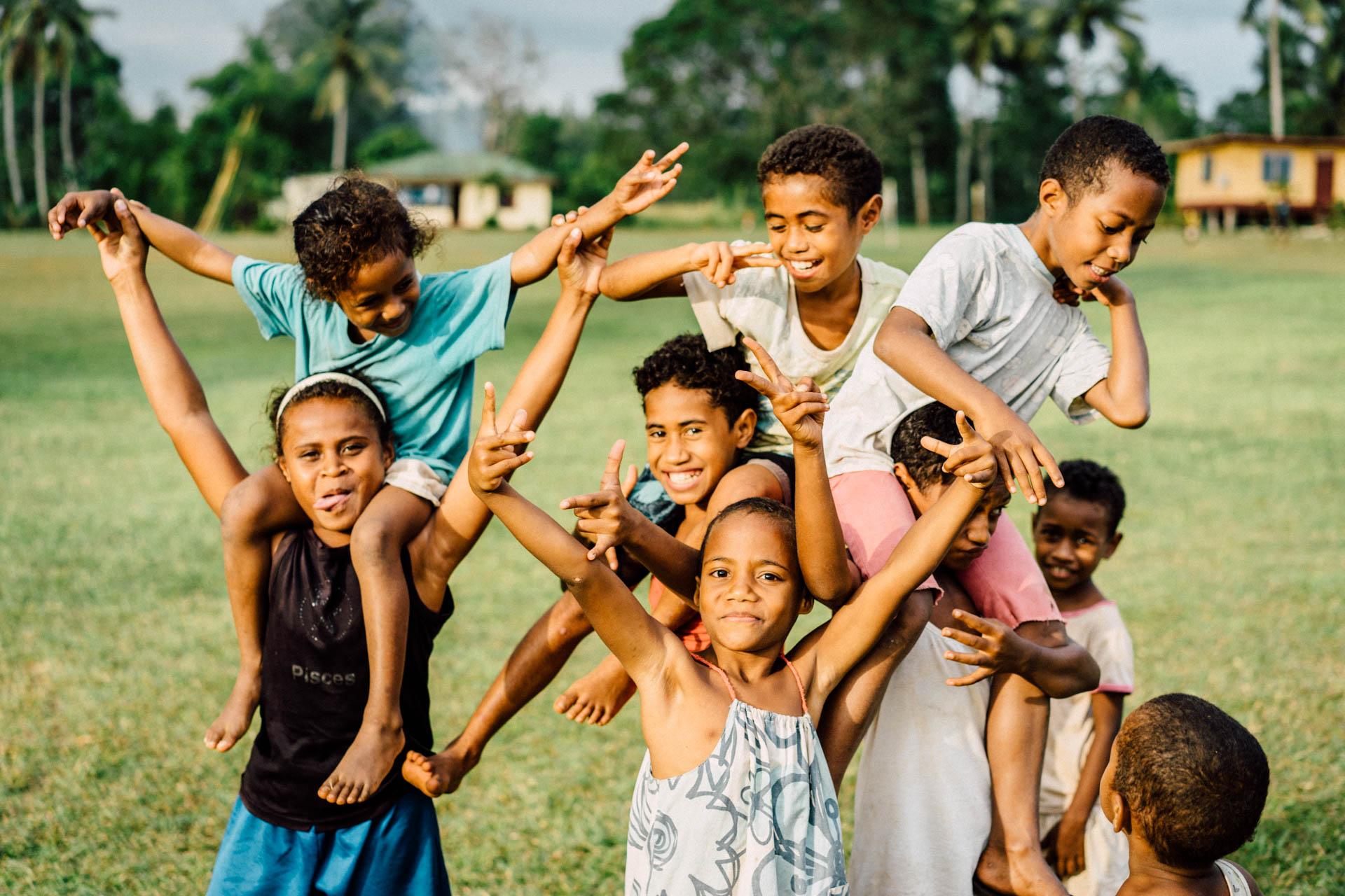 Joie de vivre à la fidjienne
