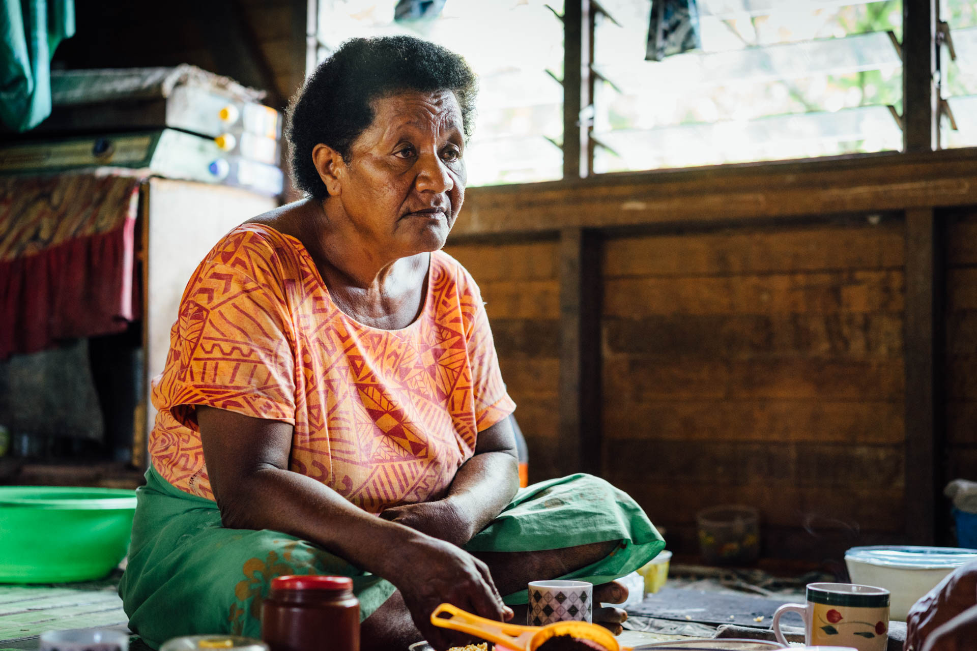 Grand mère fidjienne