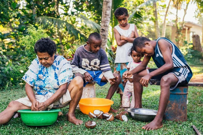 Preparation du Lovo Fidji