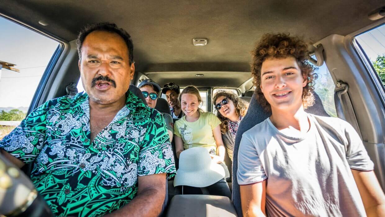 En route pour Navala Village Fidji