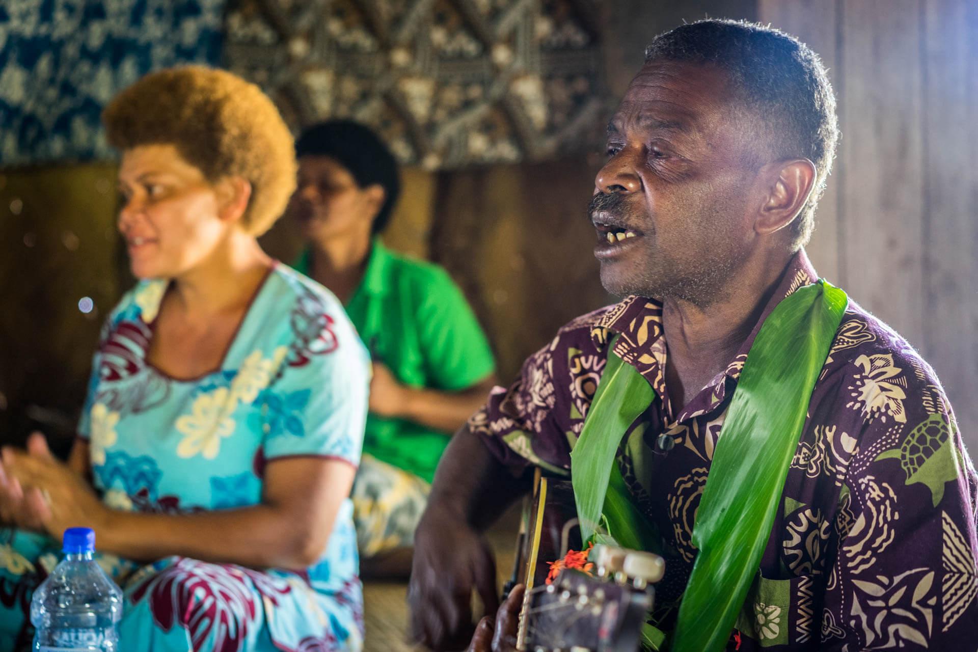 Ukulele aux Fidji