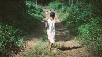 Enfant qui marche