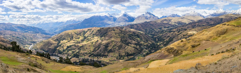 Panorama de la vallée de Huaraz