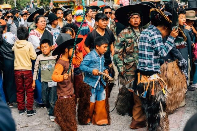 Danse tribale cotacachi