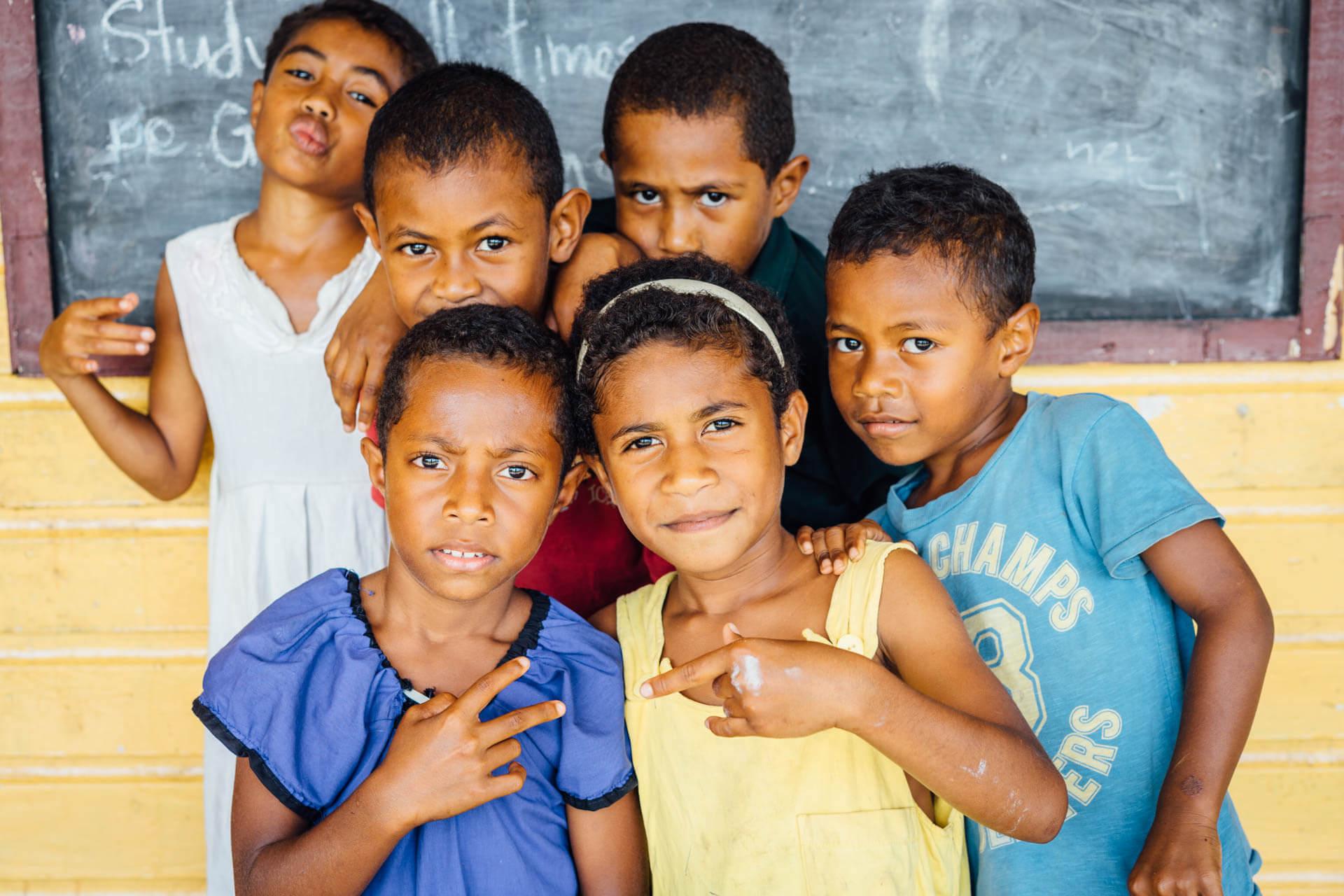 Enfants fidjiens