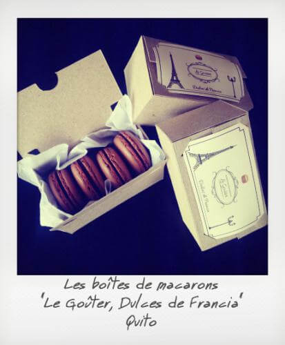 Macarons Dules de Francia