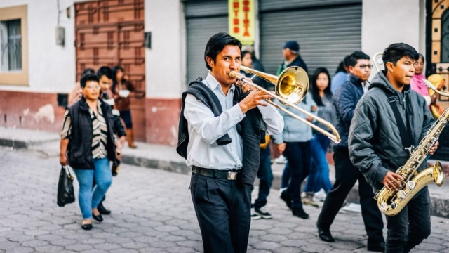 Tromboniste à San Pablo