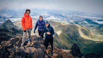 Sommet du volcan Pichincha, Quito