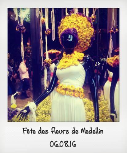 Fête des fleurs à Medellin