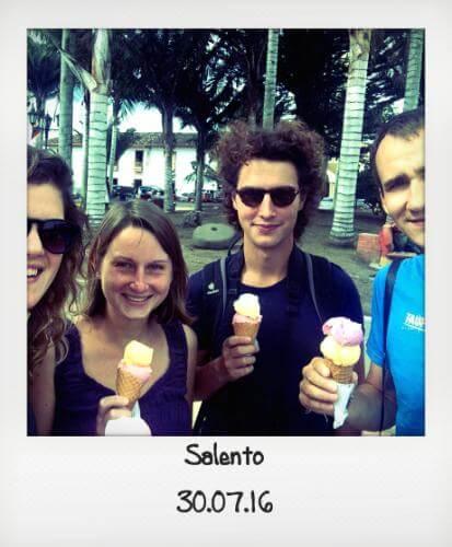 Glace à Salento
