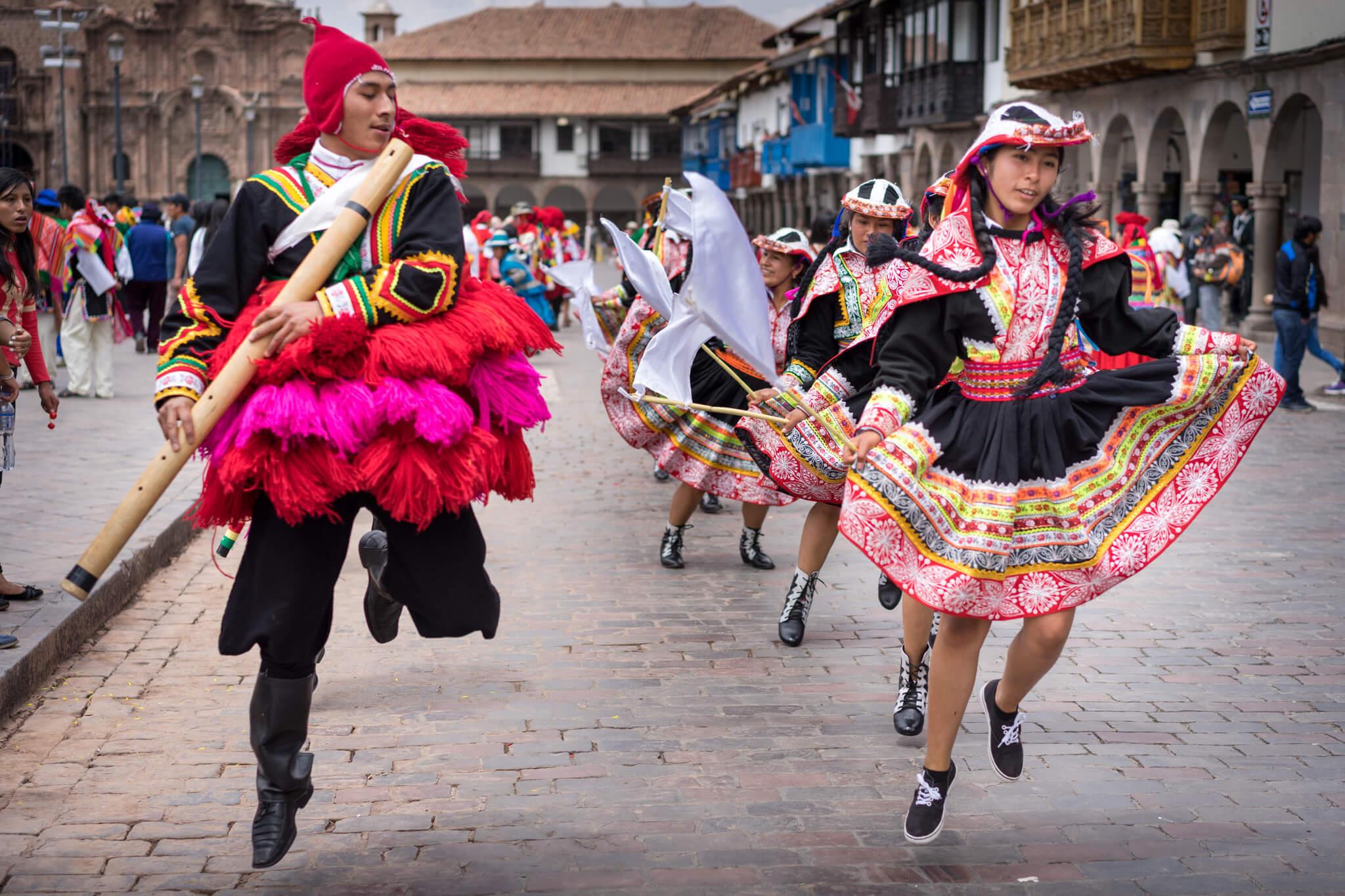 Fête à Cusco