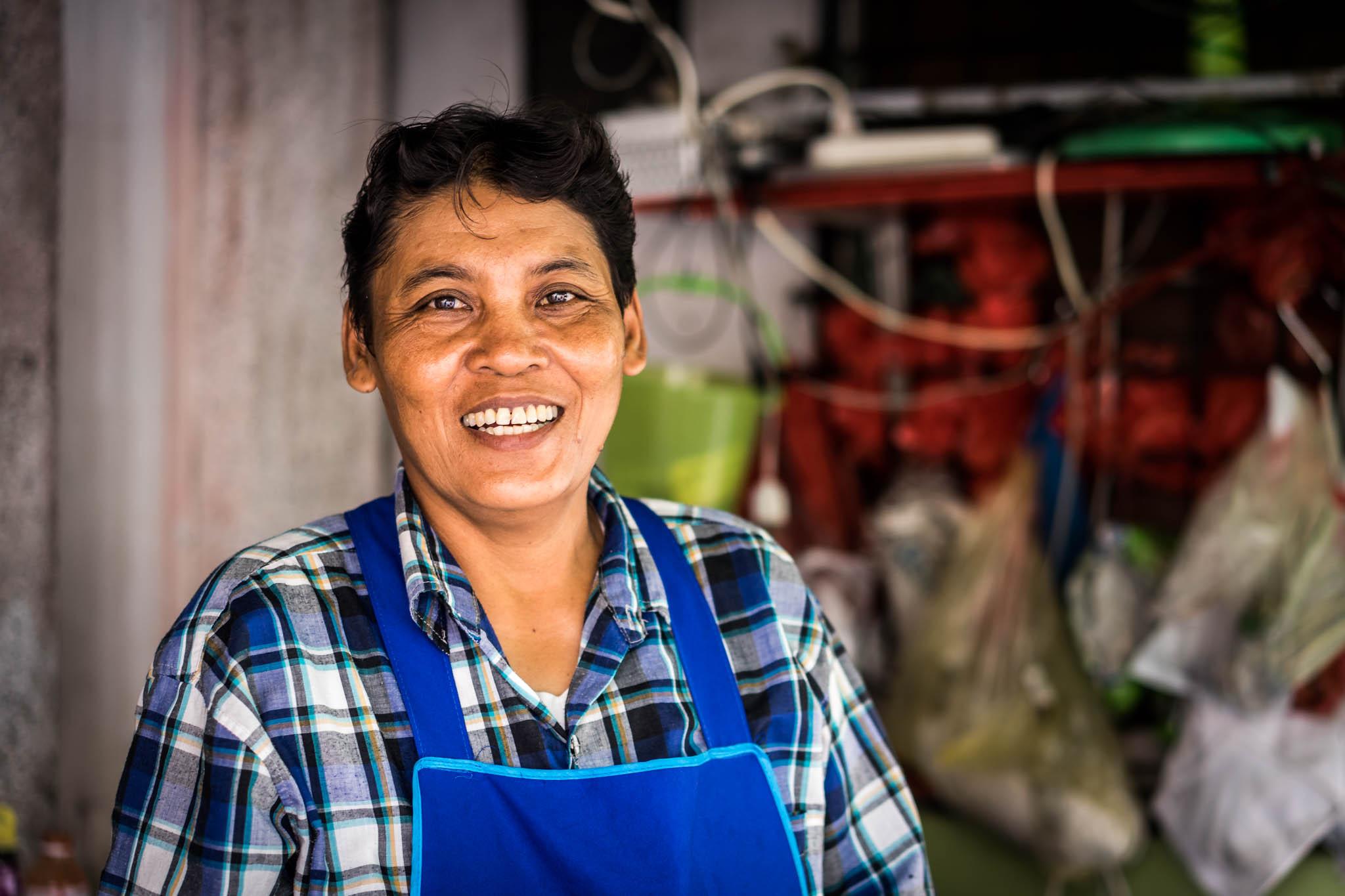 bangkok gargotte cuisinière