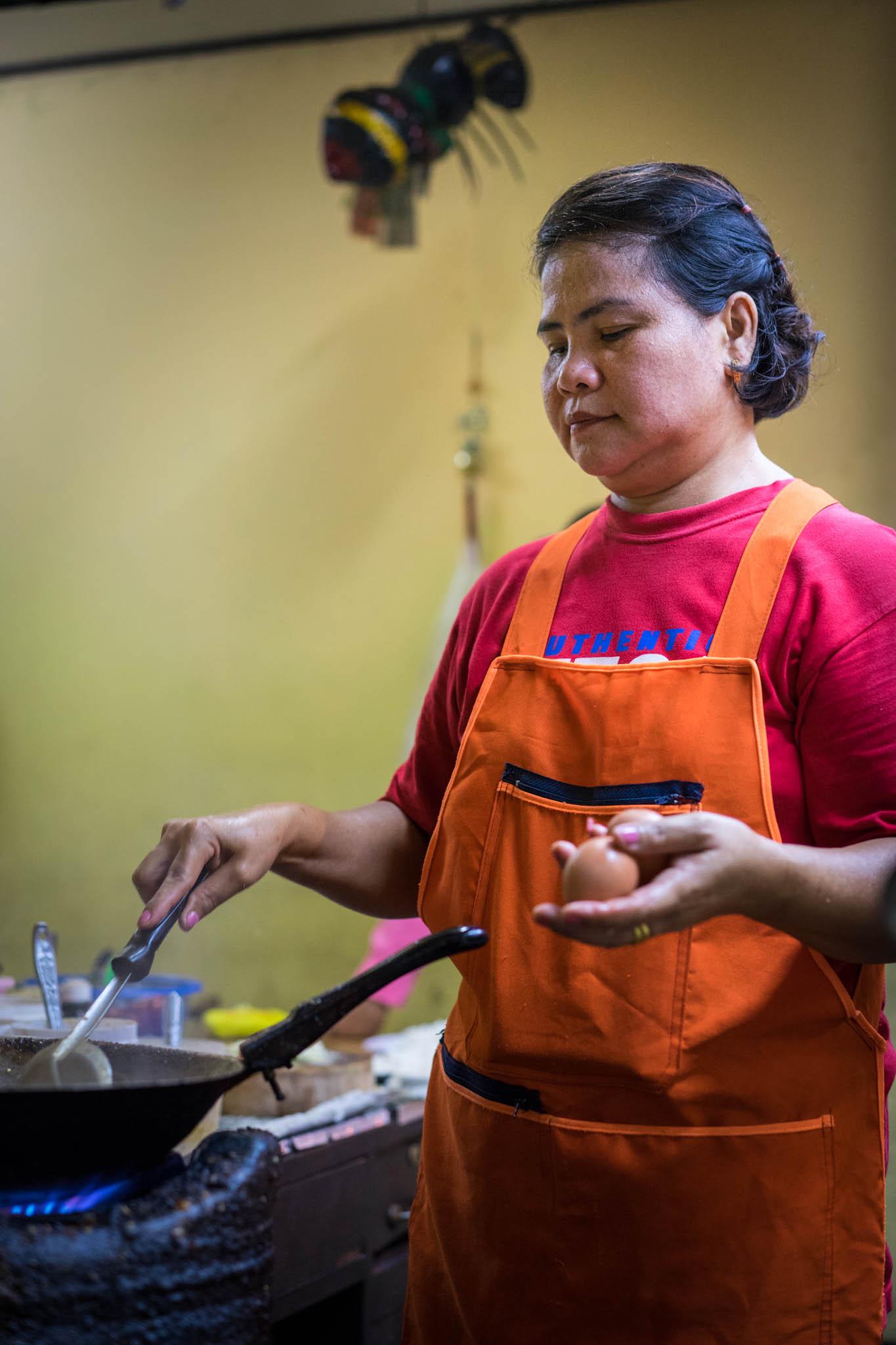 Cuisinière bangkok