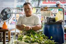fleuriste marché au fleurs bangkok