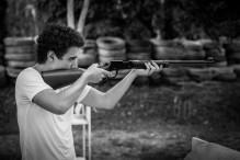 Alexis à la carabine