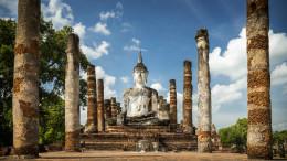 Bouddha blanc Sukhothaï