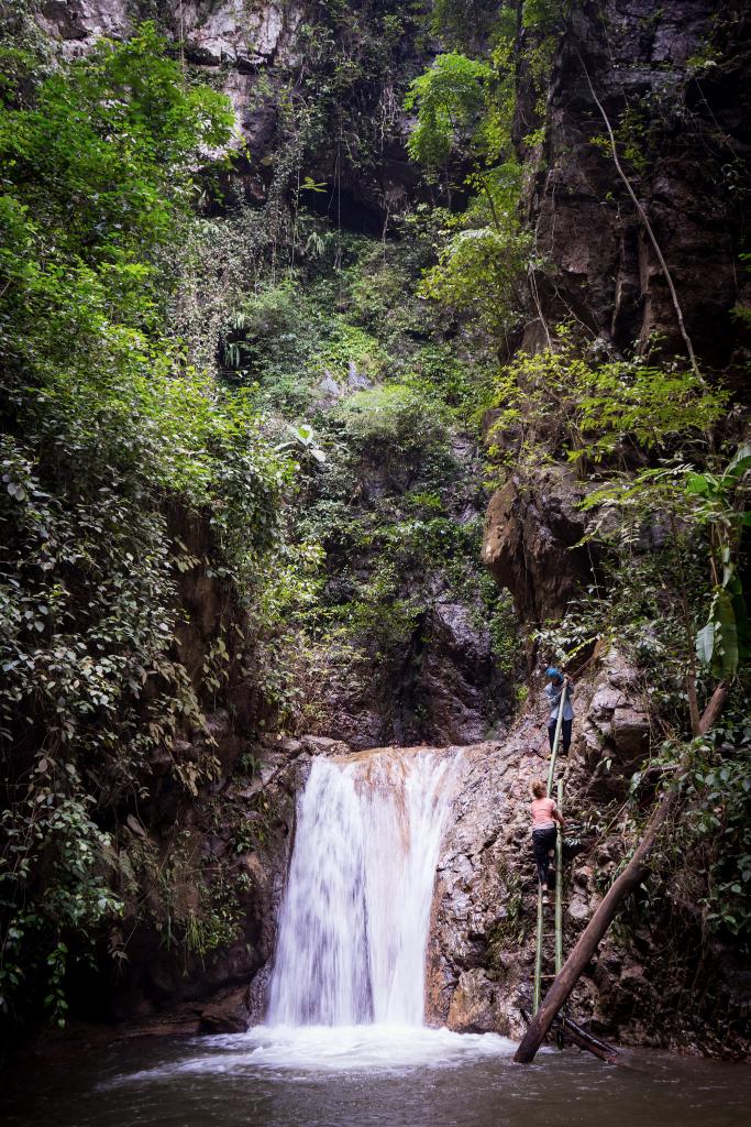 Cascade trek mae hong son