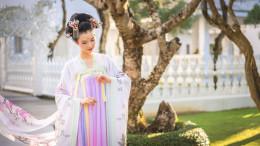 Modèle japonaise white temple