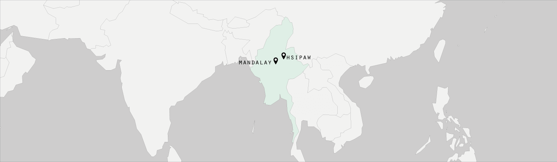 birmanie Mandalay et Hsipaw