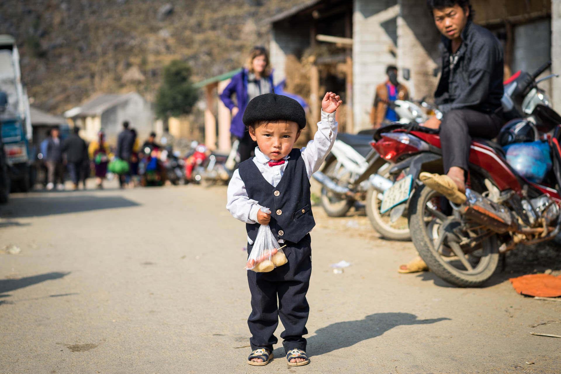 Enfant Nord du Vietnam