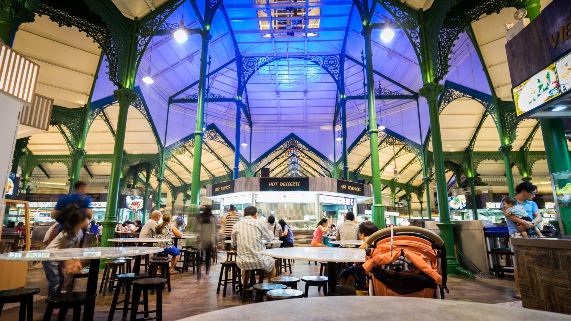 Foodcourt Singapour